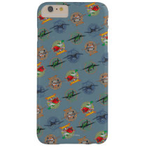 Planes Pattern Barely There iPhone 6 Plus Case