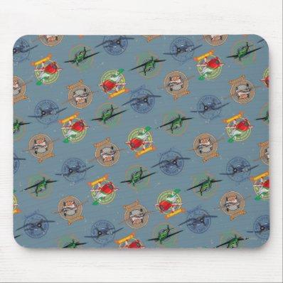 Planes Pattern Mousepad