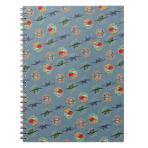 Planes Pattern Notebook