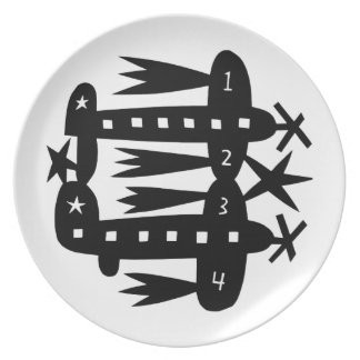 Planes Plate