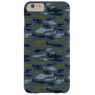 Planes Silhouettes Topographical Pattern Barely There iPhone 6 Plus Case