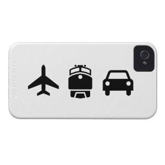Planes/Trains/Automobiles Pictogram iPhone4 Case