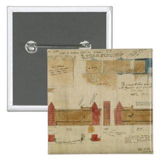 Planes y elevaciones para la casa roja, Bexley Hea Pin Cuadrado