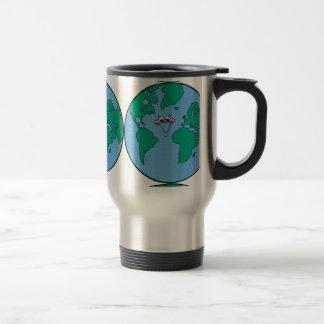 planet002PR CARTOON PLANET EARTH HAPPY DAY CAUSES Travel Mug