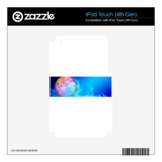 planet-9589354gh iPod touch 4G skin