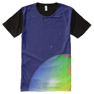 Planet All-Over Print Shirt