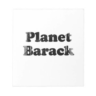 Planet Barack Faded png Notepads