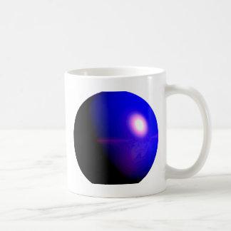 Planet Blue 3D Design Coffee Mug