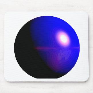 Planet Blue 3D Design Mousepad
