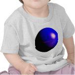 Planet Blue 3D Design T Shirts
