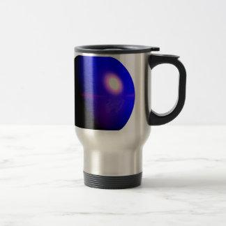 Planet Blue 3D Design Travel Mug