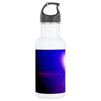 Planet Blue 3D Design Water Bottle