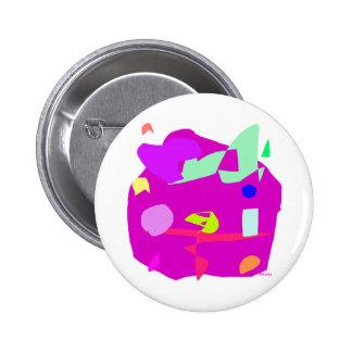 Planet 2 Inch Round Button