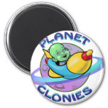 Planet Clonies Refrigerator Magnets