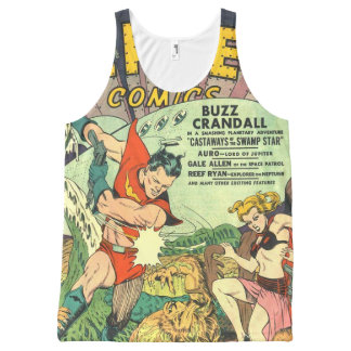 Planet comic cover All-Over-Print tank top