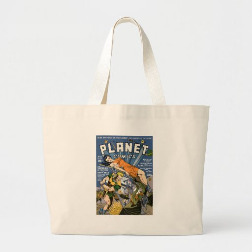 Planet Comics Jumbo Tote Bag