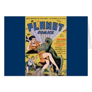Planet Comics No 20 Card