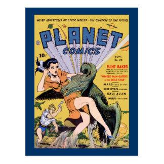 Planet Comics No 20 Postcard