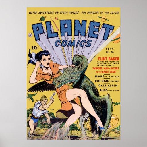 Planet Comics No 20 Poster