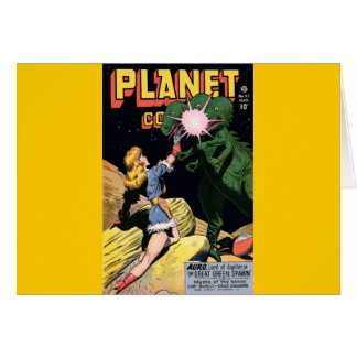 Planet Comics No 47 Card