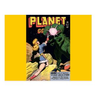 Planet Comics No 47 Postcard