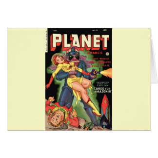 Planet Comics No 70 Card