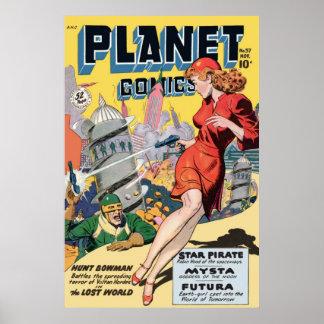 Planet Comics Poster