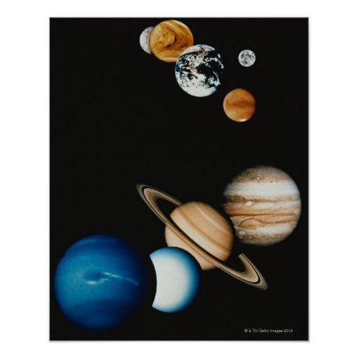 Planet Composition Posters