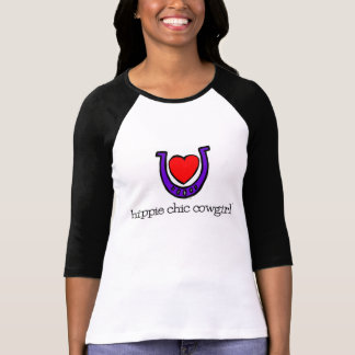 planet cowgirl's 1st hippie chic cowgirl design T-Shirt
