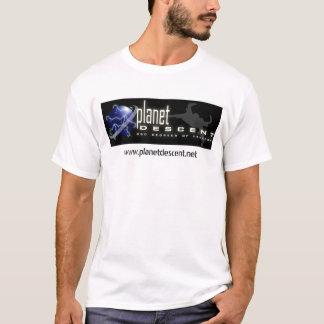 Planet Descent Banner T Light T-Shirt