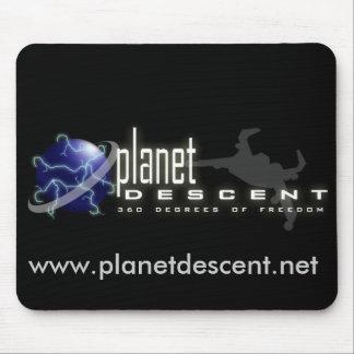 Planet Descent Mousepad
