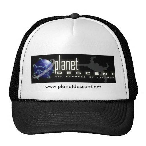 Planet Descet Trucker Hat