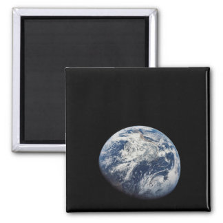 Planet Earth 2 Inch Square Magnet