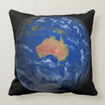 Planet Earth 2 Throw Pillow