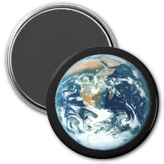 Planet Earth 3 Inch Round Magnet