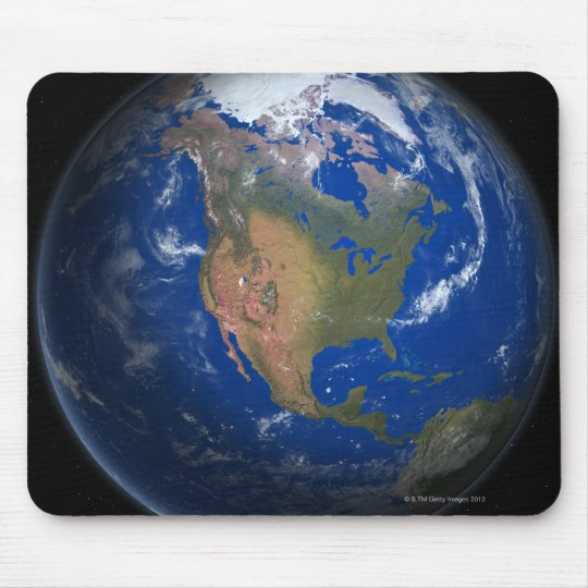 Planet Earth 3 Mouse Pad