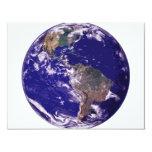 Planet Earth 4.25x5.5 Paper Invitation Card