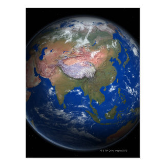 Planet Earth 4 Postcard