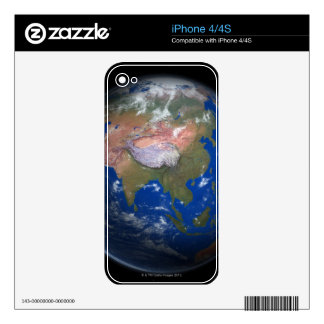 Planet Earth 4 Decals For iPhone 4S