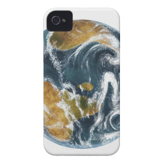 Planet Earth and clouds seen from space iPhone 4 Case-Mate Case