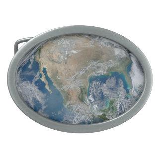 Planet Earth Belt Buckle