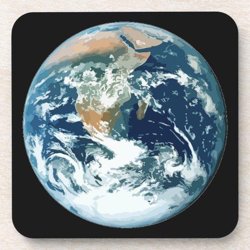 Planet Earth Beverage Coaster