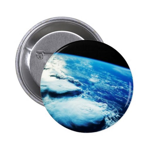 Planet Earth button Pins
