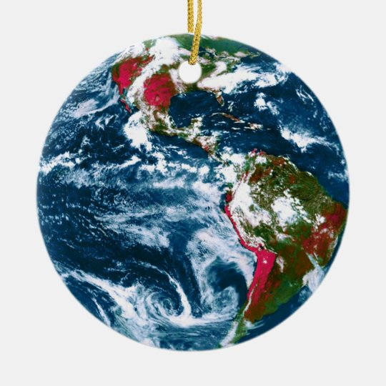 Planet Earth Christmas Ornament - Planet Earth Christmas Ornament Zazzle.com