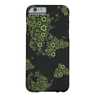 Planet earth composed of recycling symbols barely there iPhone 6 case