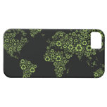 Planet earth composed of recycling symbols iPhone 5 cover