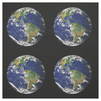 Planet Earth Fabric