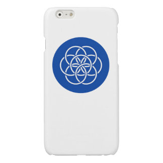 Planet earth flag glossy iPhone 6 case