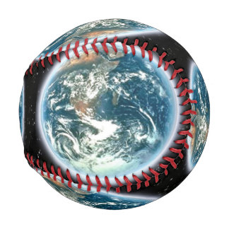Planet Earth from Outer Space Astro Game Ball Baseball
