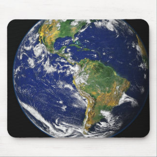Planet Earth From Outer Space MousePad